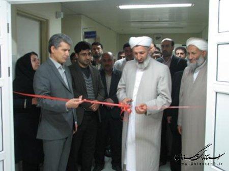 افتتاح بخش عفوني بيمارستان آل جليل شهر آق قلا