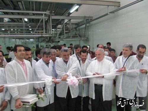 گزارش تصویری افتتاح  کشتارگاه صنعتی دام استان گلستان با حضور وزیر کشاورزی