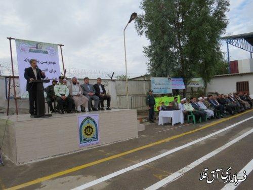 اقتدار و عزت نیروی انتظامی در شهرستان آق قلا مشهود است