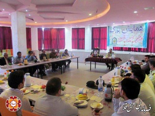 برگزاری همایش پلیس امنیت اصناف در آق قلا