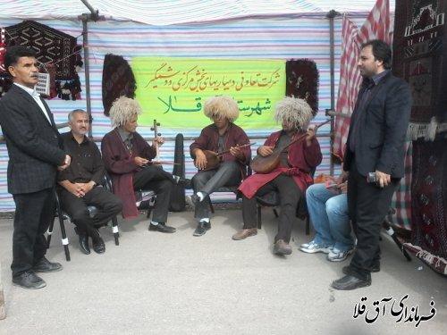 حضور فعال شرکت تعاونی دهیاران بخش مرکزی و وشمگیر شهرستان آق قلا