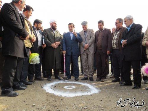 عملیات اجرایی طرح هادی در 5 روستای شهرستان آق قلا آغاز شد