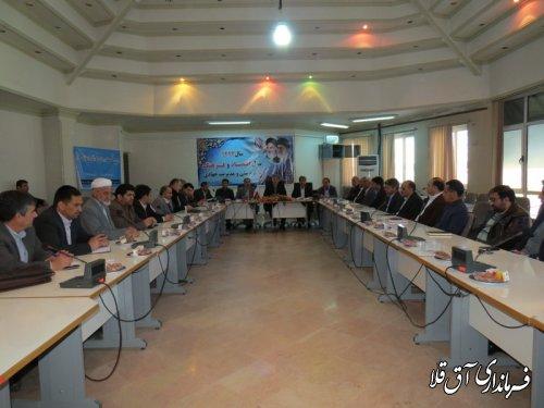 فرماندار شهرستان آق قلا بر تقویت نگاه علمی برای توسعه روستاها تاکید کرد