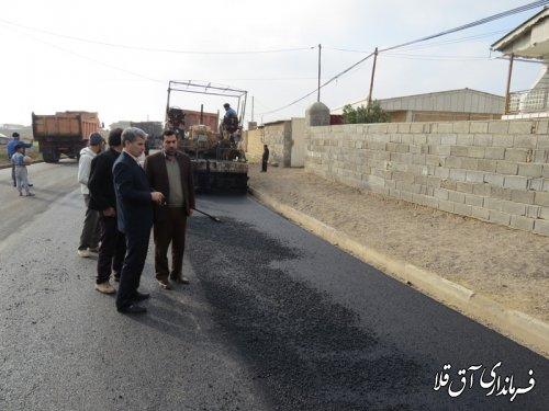اجرای فاز دوم طرح هادی روستای دوگونچی شهرستان آق قلا آغاز شد