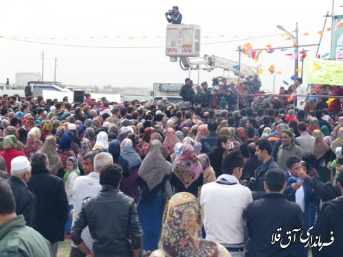 گزارش تصویری از اولین روز از محل برگزاری جشنواره فرهنگ اقوام شهرستان آق قلا