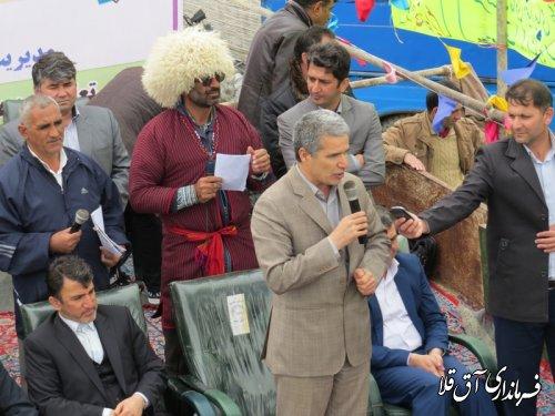 جشنواره نوروزی اقوام باعث تقویت همدلی و همزبانی قومیت های مختلف شهرستان آق قلا شده است