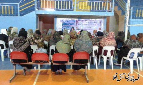 برگزاری کارگاه آموزشی مهارتهای همسرداری ویژه بانوان ورزشکار