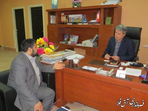 برگزاری ملاقات عمومی فرماندار شهرستان آق قلا با مردم