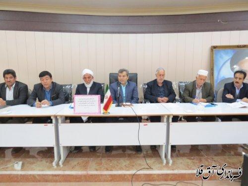 معتمدین هیات اجرایی انتخابات شوراهای اسلامی بخش مرکزی شهرستان آق قلا انتخاب شدند