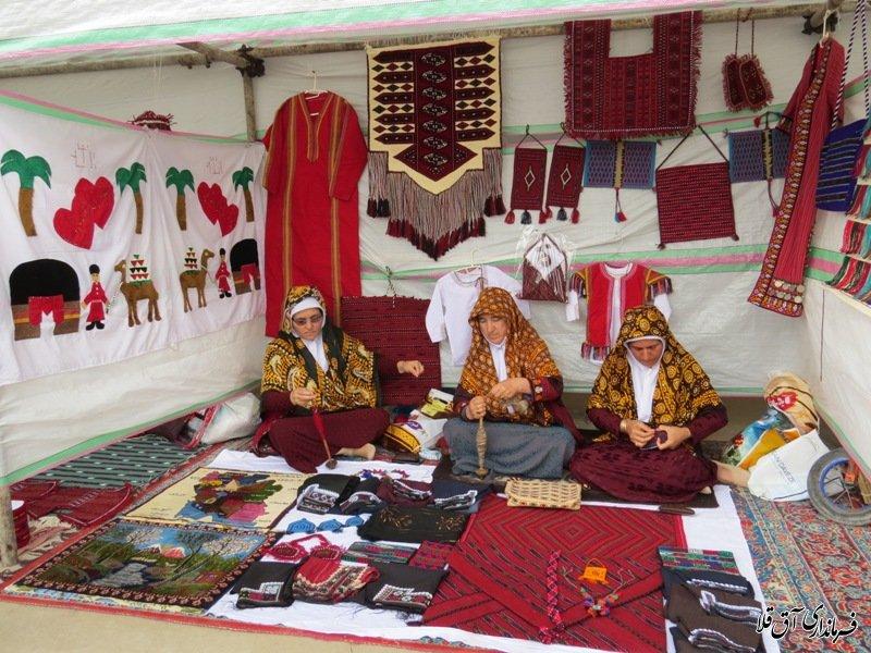 جشنواره فرهنگ و اقتصاد روستا در عطا آباد آق قلا