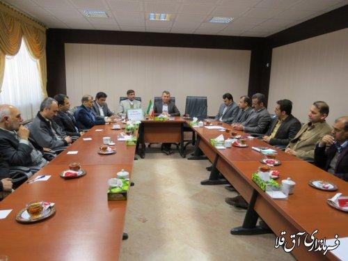 سیزدهمین جلسه ستاد انتخابات شهرستان آق قلا