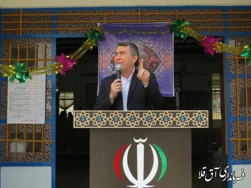 حضور ما نشان دهنده حمایت از نظام و انقلاب اسلامی است