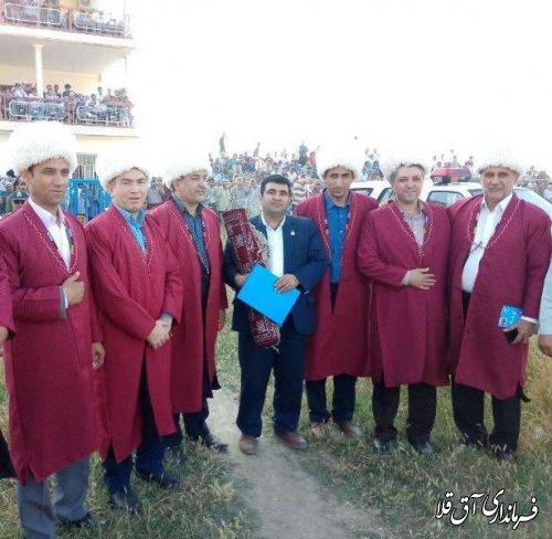 ششمین هفته مسابقات اسبدوانی کورس بهاره شهرستان آق قلا برگزار شد