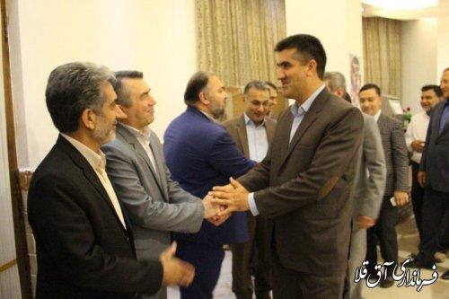 مراسم تجلیل از عوامل اجرایی انتخابات شهرستان آق قلا برگزار شد