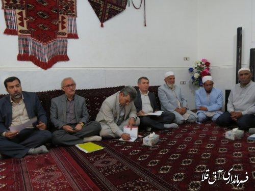 بازدید فرماندار و بررسی مسائل و مشکلات روستای یامپی بخش مرکزی شهرستان آق قلا