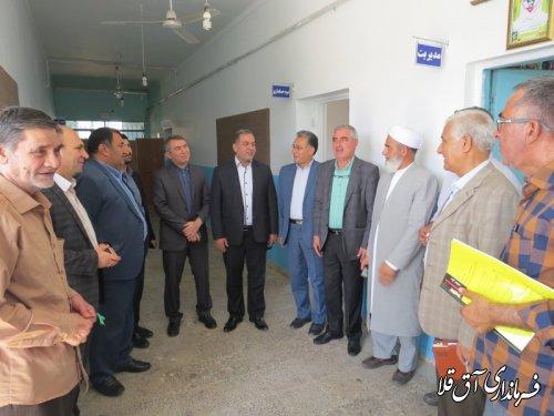 بازدید معاون هماهنگی امور اقتصادی و توسعه منابع استانداری از روستای عطا آباد