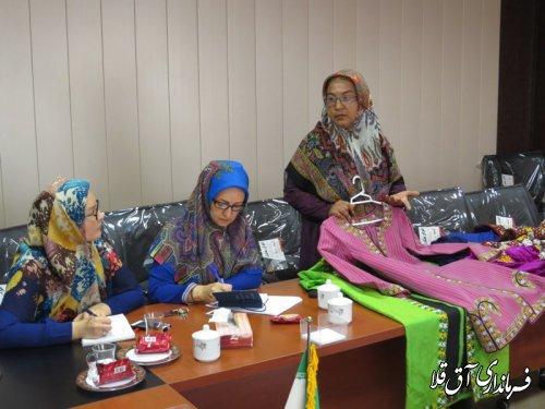 جلسه گروه کاری اشتغال بانوان شهرستان آق قلا