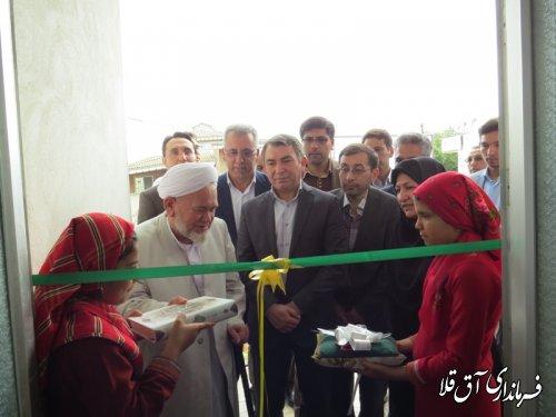 نخستین مرکز روزانه آموزشی و توانبخشی بیماران روانی مزمن شهرستان آق قلا افتتاح شد