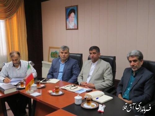 جلسه کمیسیون ستاد آنفولانزای فوق حاد پرندگان شهرستان آق قلا برگزار شد