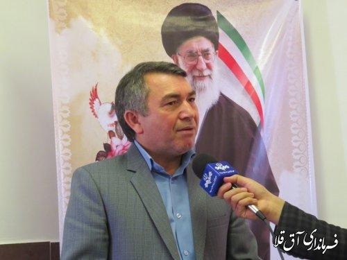 افتتاح و کلنگ زنی 125 پروژه عمرانی ، تولیدی و اشتغالزائی در شهرستان آق قلا