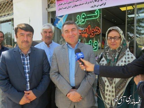 افتتاح دو دفتر خدمات مسافرتی و گردشگری در شهرستان آق قلا