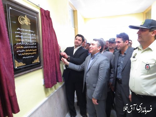 دو پروژه ورزشی در شهرستان آق قلا افتتاح و به بهره برداری رسید