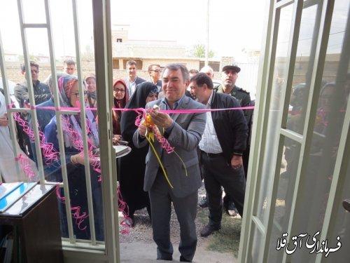 اولین پایگاه سلامت اجتماعی شهرستان آق قلا افتتاح شد