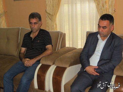 جلسه هماهنگی تسریع در اتمام عملیات پل شهید باهنر شهر آق قلا