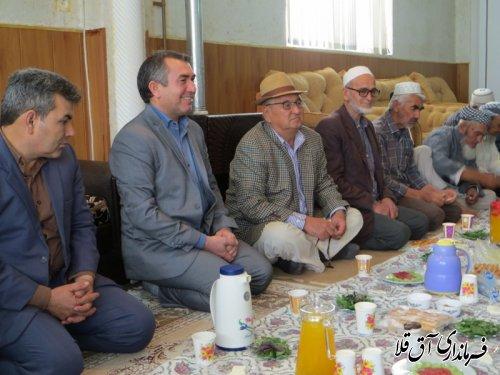 دیدار فرماندار با سالمندان مرکز آموزشی و توانبخشی یاشار شهر آق قلا