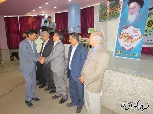 همایش پلیس و اصناف در شهرستان آق قلا برگزار شد