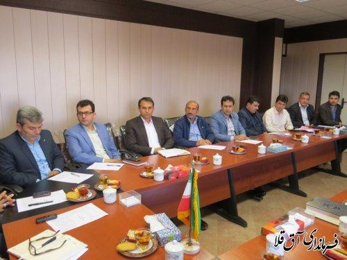 پنجمین جلسه ستاد ساماندهی امور جوانان شهرستان آق قلا برگزار شد