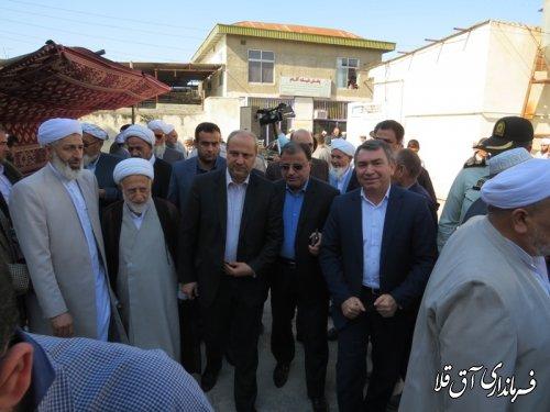 حضور استاندار گلستان در مراسم فارغ التحصیلی طلاب حوزه علمیه مصلحی
