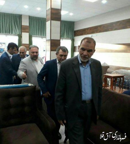 بازدید معاون وزیر کار، تعاون و رفاه اجتماعی از کارگاه های مبل سازی عطا آباد