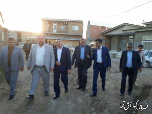 بازدید معاون وزیر تعاون، کار  و رفاه اجتماعی از کارگاه های مبل سازی عطا آباد