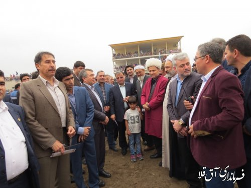 هفته سوم مسابقات کورس پائیزه شهرستان آق قلا برگزار شد