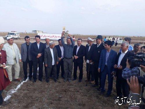 هفته قهرمانی مسابقات کورس پائیزه شهرستان آق قلا برگزار شد