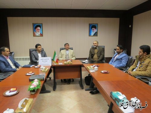 هفتمین جلسه کمیسیون دانشجویی شهرستان آق قلا برگزار شد