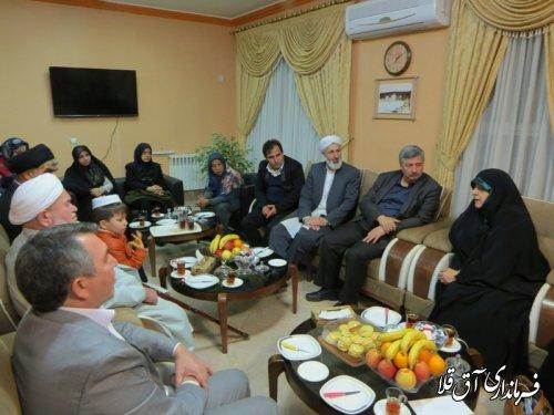 دیدار معاون رئیس جمهوری در امور زنان و خانواده با ائمه جمعه شهر آق قلا