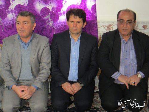 مسکن معلولین در روستای قوشجان آباد بخش مرکزی شهرستان آق قلا افتتاح شد