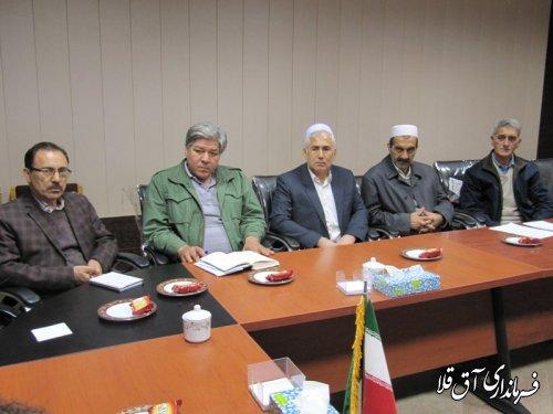 دومین جلسه هماهنگی ایجاد بازارچه ماهی و آبزیان در شهر آق قلا برگزار شد