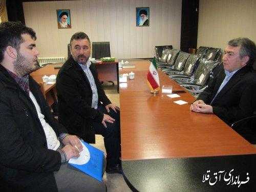 ملاقات عمومی فرماندار شهرستان آق قلا برگزار شد