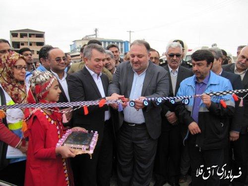 دهکده گردشگری روستائی و جشنواره نوروزگاه شهرستان آق قلا افتتاح شد