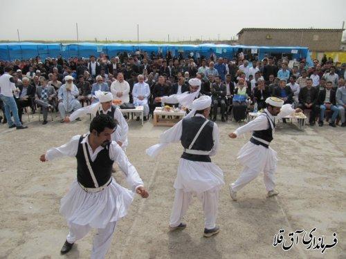 جشنواره فرهنگ و اقتصاد در روستای امین آباد برگزار شد
