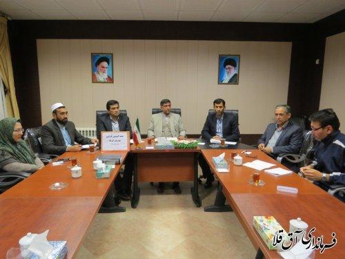 دومین جلسه کمیسیون کارگری شهرستان آق قلا برگزار شد