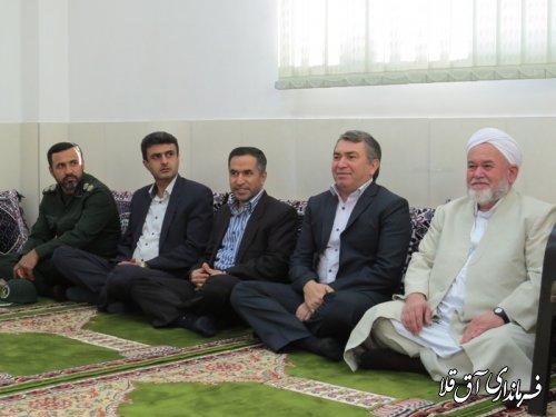 جشن اعیاد شعبانیه در دادگستری شهرستان آق قلا برگزار شد