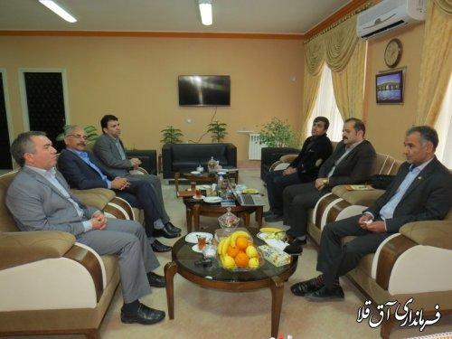 اجرای طرح ملی سیماک و GNF  (جی نف)در شهرستان آق قلا