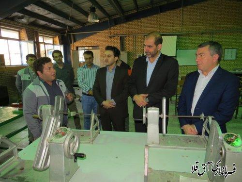 """نماینده عالی دولت از مرکز آموزش""""شهدای غواص""""شهرستان آق قلا بازدید کرد"""