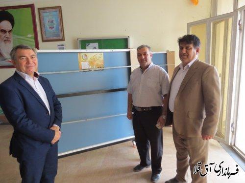 میز پینگ پنگ(تنیس روی میز)به مرکز ترک اعتیاد شهرستان آق قلا اهداء شد