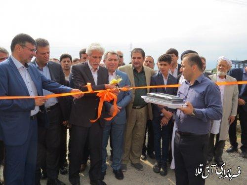 واحد تولیدی خوراک دام با اشتغالزائی 100 نفر در شهرک صنعتی آق قلا افتتاح شد