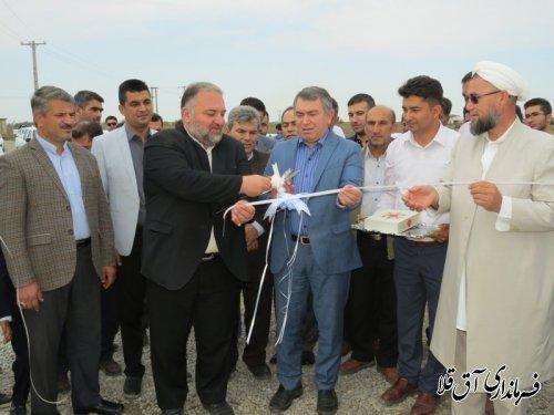 واحد تولیدی مرغ گوشتی 40 هزار قطعه ای با سرمایه گذاری 20 میلیارد ریال در روستای عطا آباد افتتاح شد